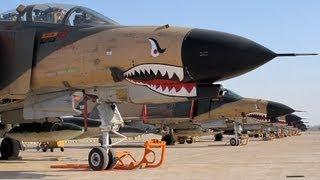 Overhauled F4 Phantom II Fighter Jets in Iran