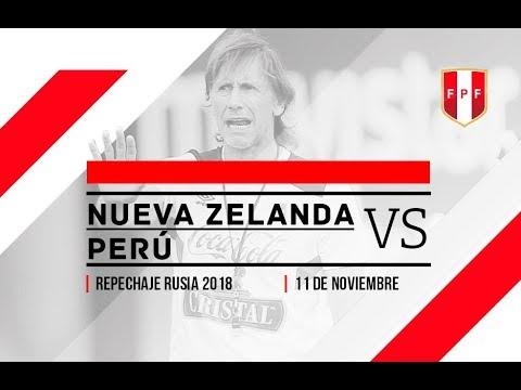Nueva Zelanda vs. Perú - Repechaje Rusia 2018 - 111117