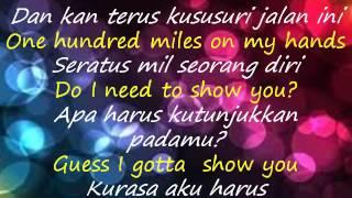 Lirik Lagu dan Terjemahan - Show You - Shawn Mendes