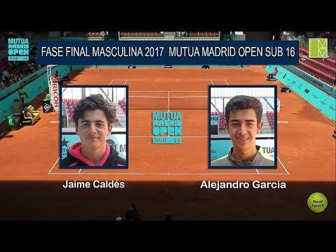 Final Masculina Master 2017 Mutua Madrid Open Sub 16