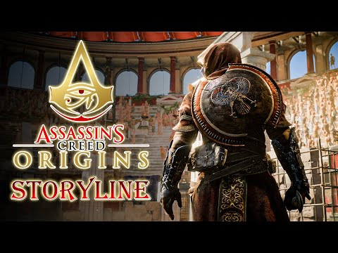 Assassin Creed Origin's Story Line With Gameplay. |