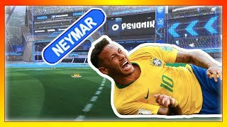 If Neymar Played Rocket League: (Neymar Challenge: Rocket League Edition)