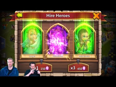 Rolling 33,000 Gems For AnubiS Chrono Account IOS Castle Clash