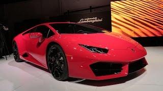 2016 Lamborghini Huracán LP 580-2 First Look  - 2015 L.A. Auto Show