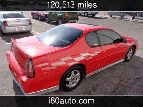 2000 Chevrolet Monte Carlo SS Used Cars  OmahaNebraska  201505