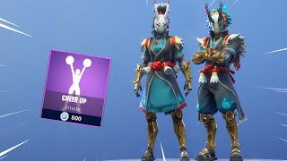 *NEW* CHEER UP EMOTE & STORM FAMILIARS SKINS Are Back! Fortnite Item Shop February 25, 2019