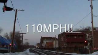 110MPH AMTRAK CLOSE UP