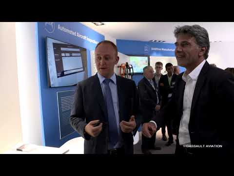 3D Scanning - Salon du Bourget 2019 - Dassault Aviation