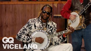 2 Chainz Plays a $22K Banjo | Most Expensivest | GQ & VICELAND