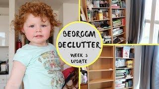 DECLUTTER CHALLENGE || WEEK 3 || TODDLER BEDROOM DECLUTTER
