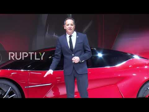 China: BYD rolls out 'dragon'-inspired electric concept car at Auto Shanghai