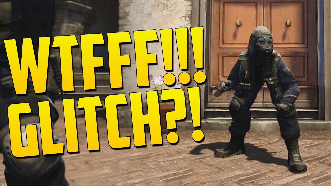 FUNNY PLAYER GLITCH - CS GO Funny Moments in Competitive