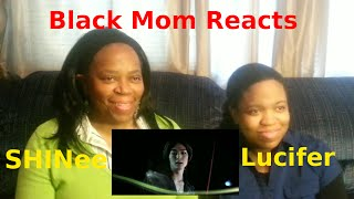black mom reacts to shinee 샤이니 lucifer musicvideo