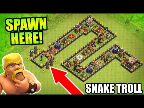 epic troll base 'the serpent'