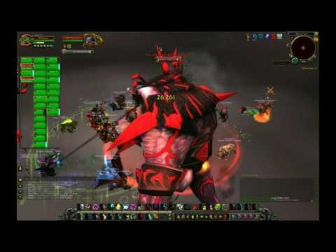 WoW - Xavius Fight (Rift of Aln) LFR Windwalker Monk
