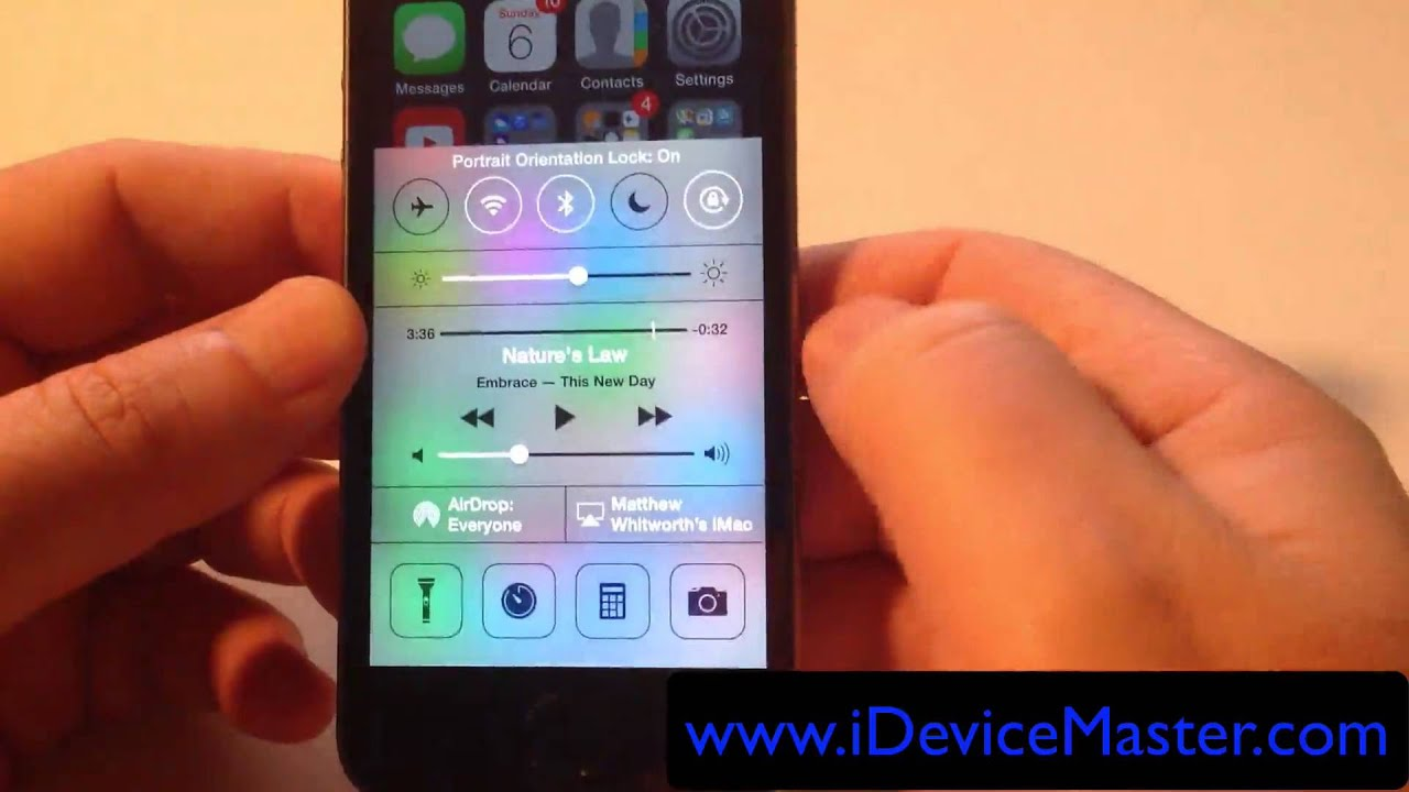 How to use orientation lock on iphone in ios 7 youtube how to use orientation lock on iphone in ios 7 buycottarizona Image collections