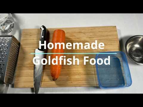 Homemade Goldfish Food - High Protein And Veggie Fish Food