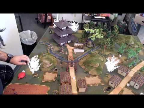 Tucson Skirmish Wargaming Ronin game 1 part 2