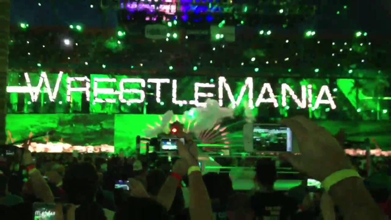 WWE Wrestlemania 28 - Triple H Entrance - YouTube