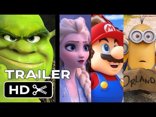 TOP UPCOMING ANIMATED MOVIES