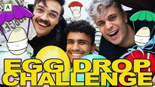 EGG DROP CHALLENGE! - Med Dennis fra Newton!