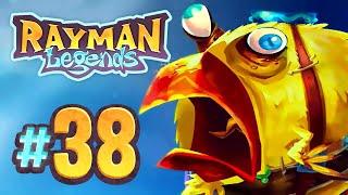 Rayman Legends - 38 - Back to Origins: Jibberish Jam (4 Player)