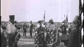 Nicholas II_Высочайший смотр Литовского полка. 1914 год /в честь 100-летия Бородинского сражения?/