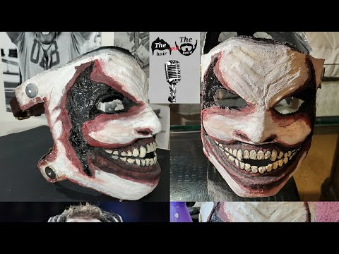 "How To Make WWE Bray Wyatt ""The Fiend"" Mask DIY"