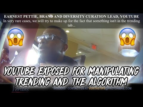 YOUTUBE Exposed! Proof Confirming They Manipulate Search Algorithm Results & The Trending Page!