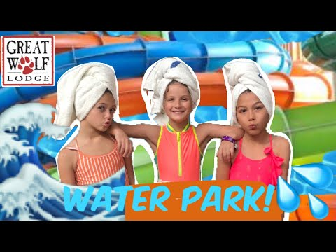 Great Wolf Lodge Water Park! | W/Hayley LeBlanc & Txunamy | Quinn Sisters