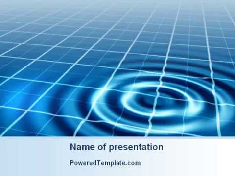 Ripple effect powerpoint template by poweredtemplatecom youtube for Poweredtemplate