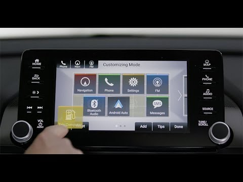 2018 Honda Accord Tips Tricks How To Clean Up The Display Audio Main Screen