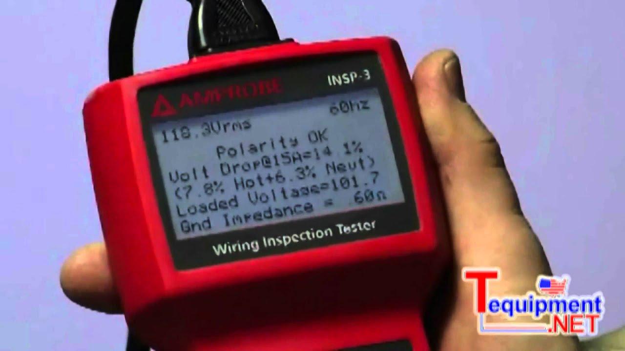 amprobe insp 3 pro wiring inspector tester youtubeamprobe insp 3 pro wiring inspector tester