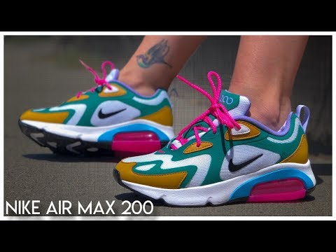 Nike Air Max 200 Review - YouTube