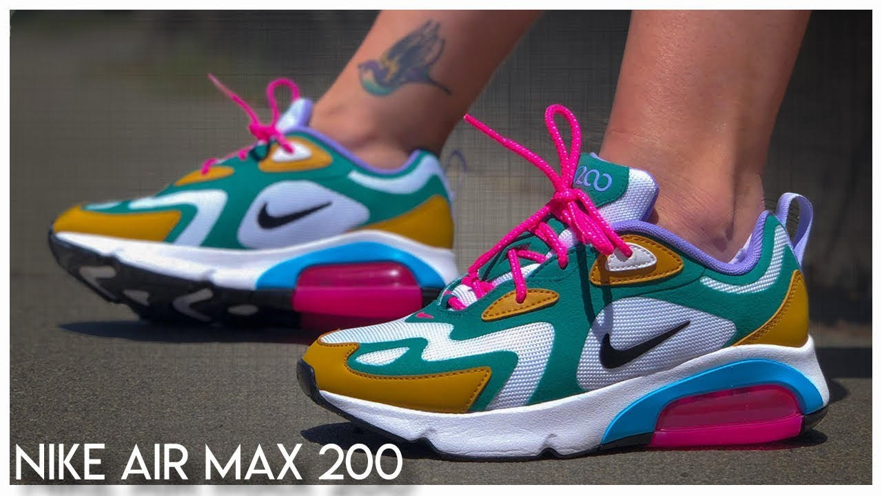 Docenas Hula hoop Orgulloso  Nike Air Max 200 Review - YouTube