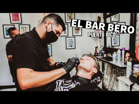 💈 Relaxing Shave at El Bar Bero | San Juan Puerto Rico