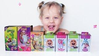 Киндер Сюрприз, Свит Бокс, Sweet Box, Обзор игрушек, Видео для детей, Открываем коробочки Sweet Box