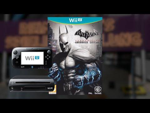 Gameplay : Batman Arkham City : Amored Edition [WII U]