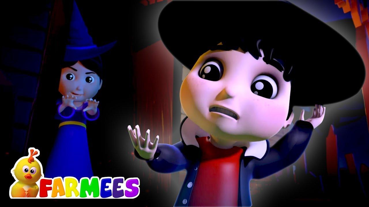 Calabaza aterradora | Halloween para niños | Farmees Español | Canciones Infantiles
