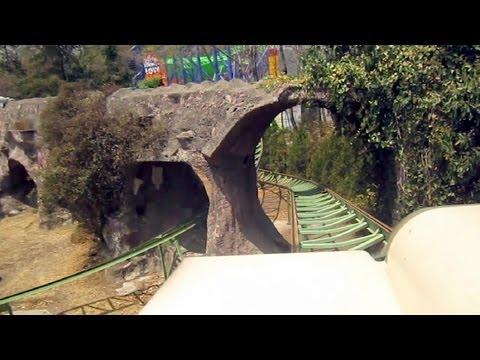 Tsunami front seat on-ride HD POV Six Flags México