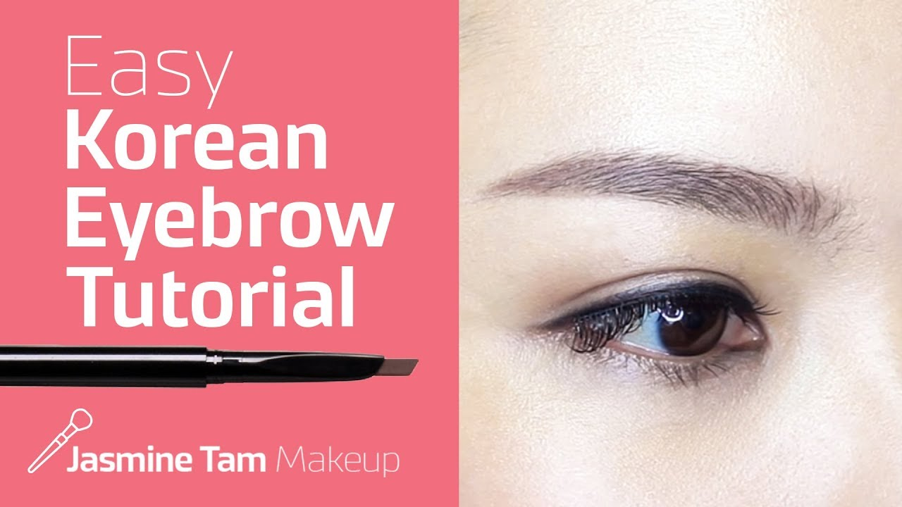 Korean Eyebrows Tutorial Youtube
