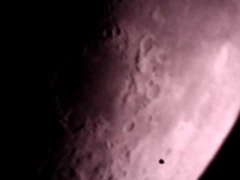 Jupiter through Celestron FirstScope - YouTube