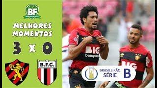 Sport 3 x 0 Botafogo SP | Brasileirão Série B 2019 | Gols da partida | Barrinha Fechada