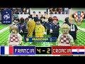 Francia 4 - 2 Croacia - Final Mundial Rusia 2018 - LEGO - Resumen y Goles - STOP Motion - Campeón