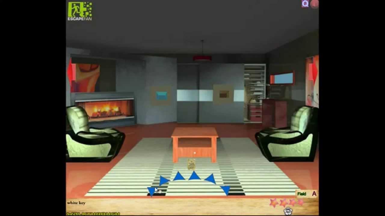 escape fan 39 s minimalistic house escape 3 walkthrough youtube