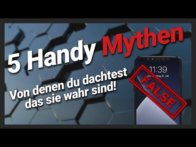 5 Handy Mythen aufgedeckt: Handy in Reis legen, Beste Handy Kamera & wie man Akku spart