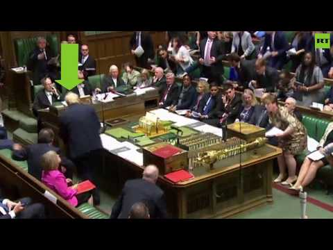 Boris Johnson does a runner to avoid Urgent Question on Gaza