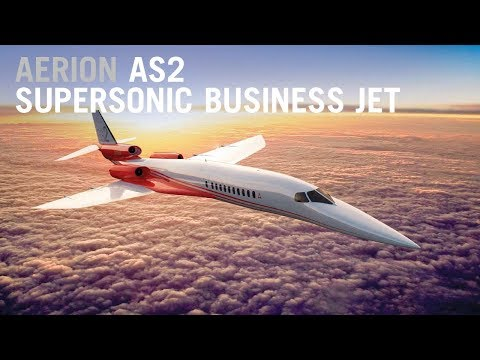 Airbus Boosts Aerion's AS2 Supersonic Business Jet  – AINtv