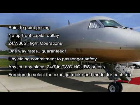 JetOptions on demand private jet charter video