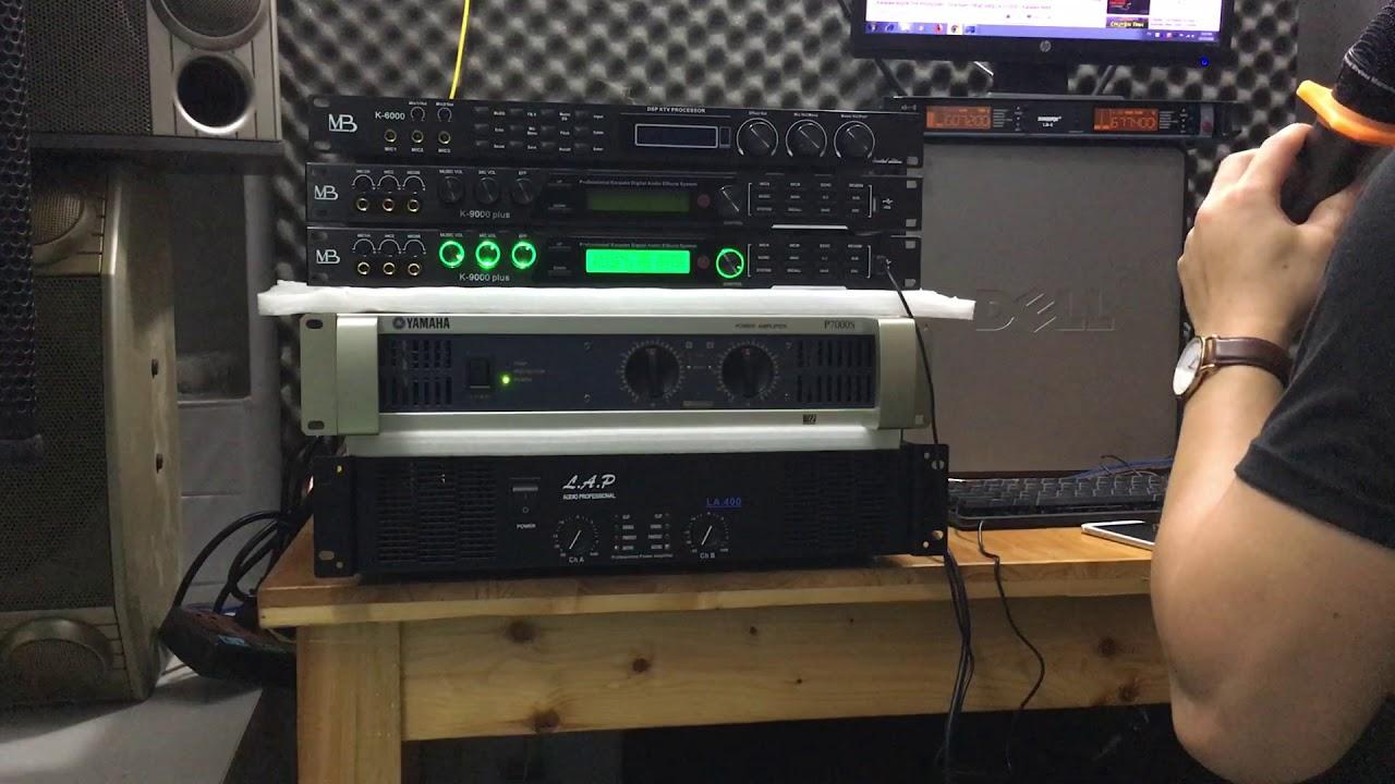 Tiếng echo mềm CHƯA qua chỉnh sửa như thế này đây các bác MB K-9000 plus